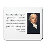 James Madison 12 Mousepad