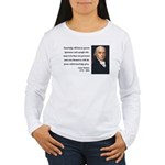 James Madison 12 Women's Long Sleeve T-Shirt