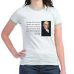 James Madison 12 Jr. Ringer T-Shirt