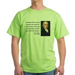 James Madison 12 Green T-Shirt