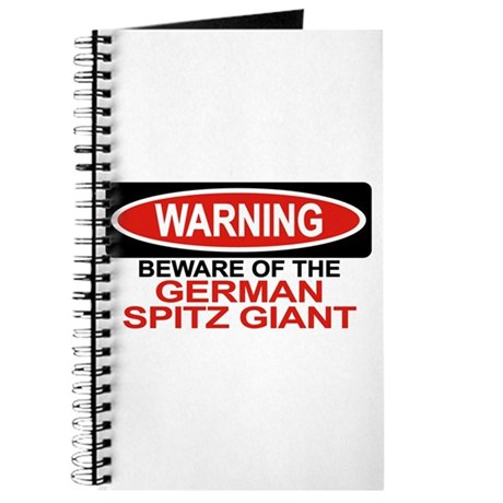 GERMAN SPITZ GIANT Journal
