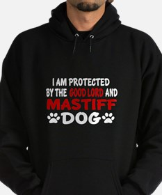 Protected By Mastiff Hoodie (dark)