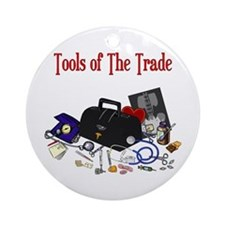 Medical Tools Of The Trade Ornament (Round)