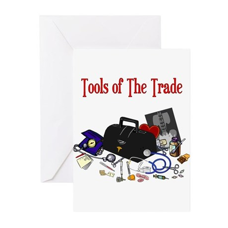 Medical Tools Of The Trade Greeting Cards (Pk of 1