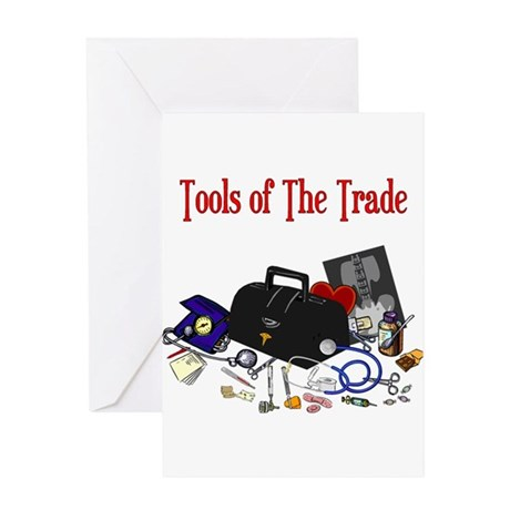 Medical Tools Of The Trade Greeting Card