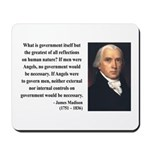 James Madison 13 Mousepad