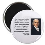 "James Madison 13 2.25"" Magnet (100 pack)"