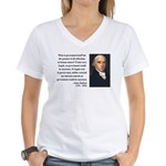 James Madison 13 Women's V-Neck T-Shirt