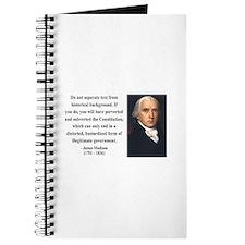 James Madison 14 Journal