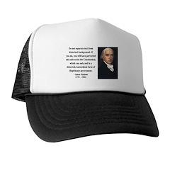 James Madison 14 Trucker Hat