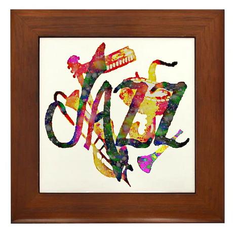 JAZZ - Framed Tile
