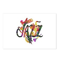 JAZZ -  Postcards (Package of 8)