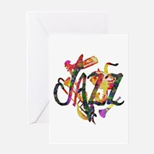 JAZZ - Greeting Card