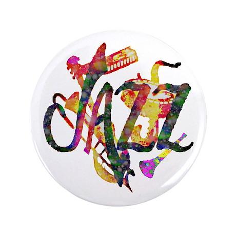 "JAZZ - 3.5"" Button (100 pack)"