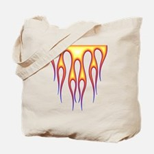 Old School Flame Job 2 Tote Bag