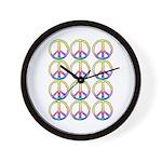 Peace x 12 Wall Clock