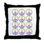Peace x 12 Throw Pillow