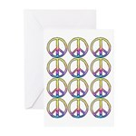 Peace x 12 Greeting Cards (Pk of 10)