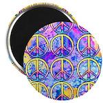 Peace x 12 Magnet