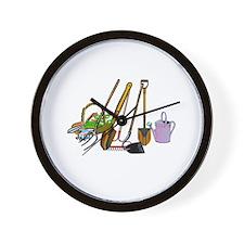 Cute Forks Wall Clock