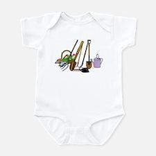 Cute Watering cans Infant Bodysuit