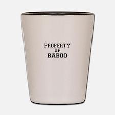 Property of BABOO Shot Glass