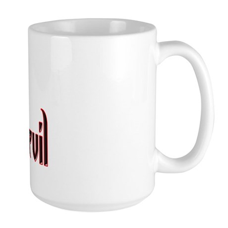 Dart Devil Large Mug