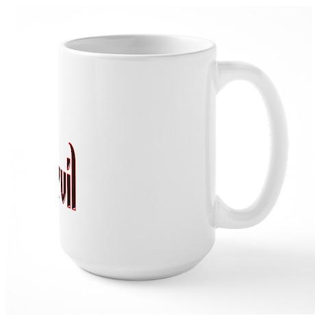 Dart Devil Large Mug