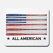 Baseball Flag Mousepad