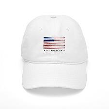 Baseball Flag Baseball Cap