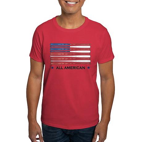 Baseball Flag Dark T-Shirt