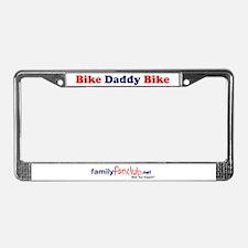 Bike Daddy Bike License Plate Frame