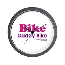 Bike Daddy Bike Wall Clock