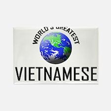 World's Greatest VIETNAMESE Rectangle Magnet