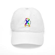 Autism Puzzle Ribbon Baseball Cap