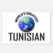 World's Greatest TUNISIAN Postcards (Package of 8)