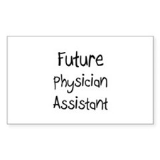 Future Physician Assistant Rectangle Decal
