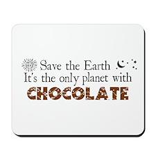 Chocolate Earth Mousepad