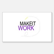 MAKET IT WORK: Rectangle Decal