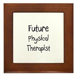 Future Physical Therapist Framed Tile