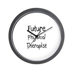 Future Physical Therapist Wall Clock