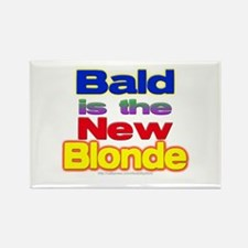 Bald is... Rectangle Magnet