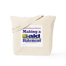 Bald Statement Tote Bag