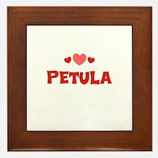 petula Framed Tile