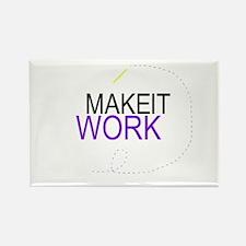 MAKE IT WORK: Rectangle Magnet