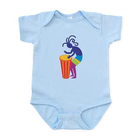 Kokopelli Drum Infant Bodysuit