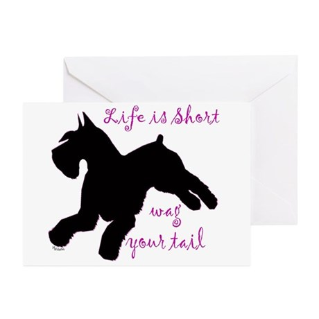 schnauzer Greeting Cards (Pk of 10)