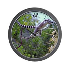 Leaping Lemur Wall Clock