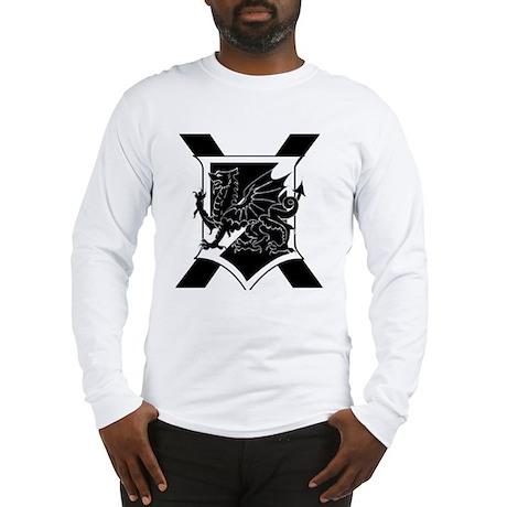Unkown's Sheild Long Sleeve T-Shirt