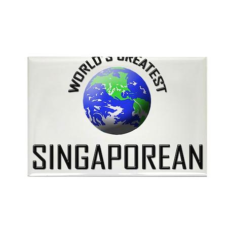 World's Greatest SINGAPOREAN Rectangle Magnet